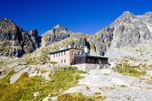 Teryho Cottage, Vysoke Tatry (High Tatras), Slovakia — Stock Photo