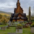 Stock Photo: Church, Heddal, Norway