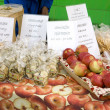 Apples, street market in Bergen, Norway — Stock Photo