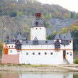 Stock Photo: Pfalzgrafenstein Castle