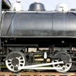 Detail of steam locomotive — Stock Photo #3835202