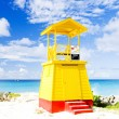 Cabin on the beach, Barbados — Stock Photo