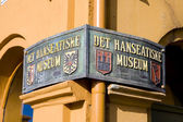Hanseatic Museum, Bergen, Norway — Foto Stock