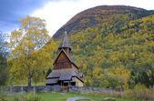 Urnes Stavkirke — Stock Photo