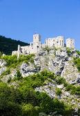 Ruins of Strecno Castle — Stock Photo