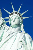 自由女神像 — 图库照片