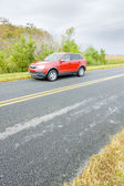 Car on road, Florida, USA — Stock Photo
