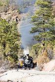 Railroad in Colorado, USA — Stock Photo