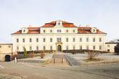 Castelo em rychnov nad kneznou, república checa — Foto Stock