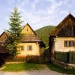 Vlkolinec, Slovakia — Stock Photo #3942291