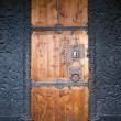 Door, Hedal Stavkirke, Norway — Stock Photo