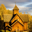 Uvdal Stavkirke, Norway — Stock Photo