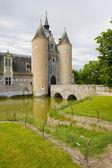 отель chateau du moulin — Стоковое фото