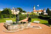 Castle of Nove Mesto nad Metuji — Stock Photo