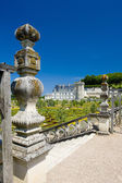 Villandry Castle with garde — Stock Photo