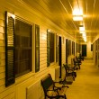 Motel at night — Stock Photo