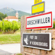 Orschwiller, Alsace, France — Stock Photo
