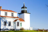 Lighthouse Fort Point Light — Stock Photo