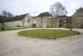 Fontenay Abbey, Burgundy, France — Stock Photo