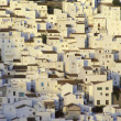 White village, Casares, Andalusia, Spain - Stock Photo