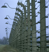 Concentration camp, Auschwitz, Poland — Stock Photo