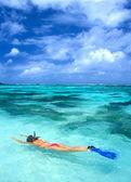 Snorkel — Foto de Stock
