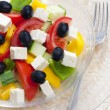 Greek salad — Stock Photo