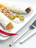 говядина буррито — Стоковое фото