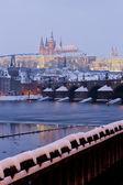 布拉格的冬天 — 图库照片