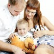 Young family — Stock Photo #4153807