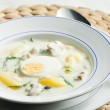 Dill soup — Stock Photo #4153818