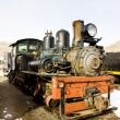 Stem locomotive — Stock Photo