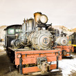 Stock Photo: Stem locomotives