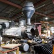 Steam locomotive depot — Stock Photo #4153839