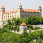 Bratislavský hrad — Stock fotografie