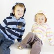 Brother with sister — Stock Photo #4167562