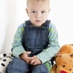 Sitting toddler — Stock Photo