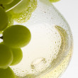 White wine and grape — Stock Photo #4167629