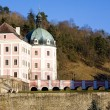 castle becov nad teplou — Stock Photo #4167635