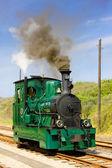 Steam tram — Stock Photo
