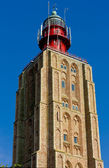 Lighthouse, Netherlands — Stock Photo