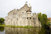 Castle of Gravensteen, Ghent — Stock Photo