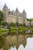 Chateau Josselin — Stock Photo