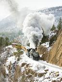Durango and Silverton Narrow Gauge Railroad — Stock Photo