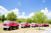 Fire engines — Stock Photo