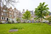 Begijnhof, Amsterdam, Netherlands — Stock Photo