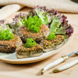 Baked champignons - Photo