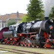 Steam train - Stock fotografie