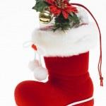 Vánoční bota — Stockfoto