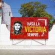 Political billboard (Che Guevara), C — Stock Photo